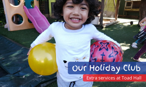 holiday club for toddlers